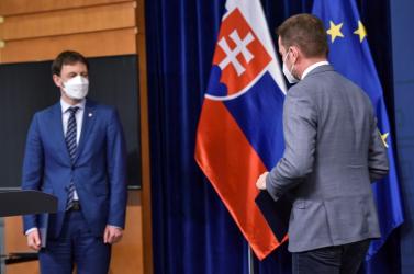 Ma 16 órakor fogadja el Igor Matovič lemondását az államfő