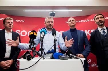 Pellegrini nem zárta ki, hogy tárgyalna Matovičcsal az esetleges együttműködésről