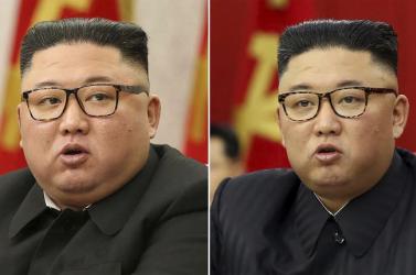 Észak-Korea népe Kim Dzsong Un elvesztett kilóit siratja