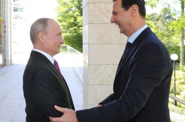 Putyin további támogatást ígért Aszadnak Szíria talpra állításához