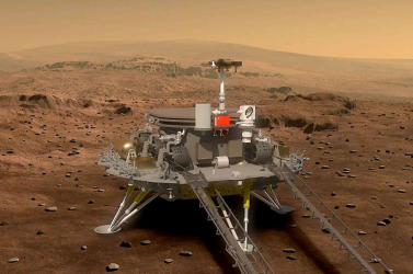 Ezt látja a vörös bolygón a kínai marsjáró (VIDEÓ)