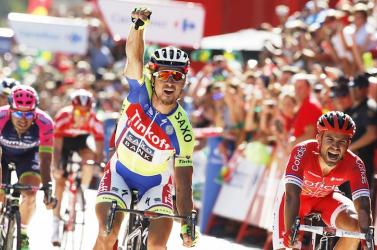 Sagan mindenkit letekert a Vuelta 3. szakaszán!