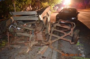 Olyan baleset történt a Galántai járásban, ami csak szökőévente egyszer fordul elő (FOTÓK)