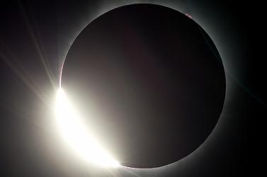 Így nézett ki a napfogyatkozás a fotósok szemével
