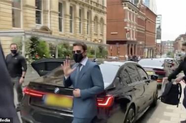 Ellopták Tom Cruise 100 ezer fontot érő BMW-jét
