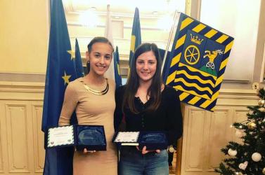 Év Sportolója díjat kapott két fiatal csallóközi sportoló, Vodnyánszká Renáta és Molnár Zsuzsanna!