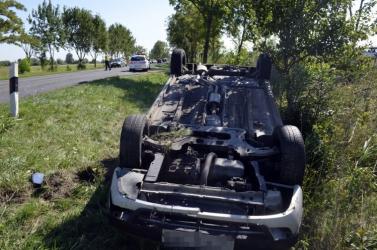 Nádszegnél kamion ütközött személyautóval