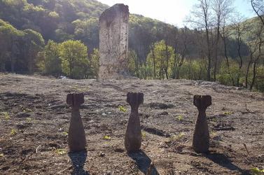 Gránátokat találtak Gombaszögön