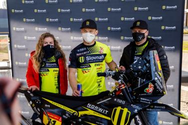 Svitko tizenkettedszer áll rajthoz a Dakar-ralin a Slovnaft Rally Team színeiben