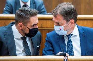 Matovič nem bízhat meg teljesen saját pártja képviselőiben sem, de nem valószínű, hogy most leváltják