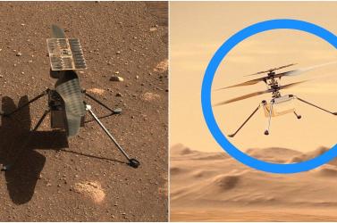 Sikeresen teljesítette a megismételt negyedik próbarepülést a NASA helikoptere a Marson
