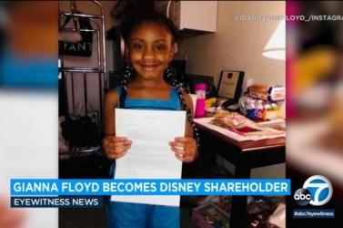 Barbra Streisand Disney-részvényeket ajándékozott George Floyd lányának