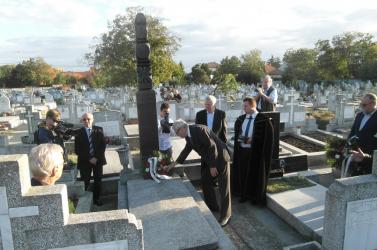 Újvárossy Ernőre és 1989-re emlékeztek Temesváron