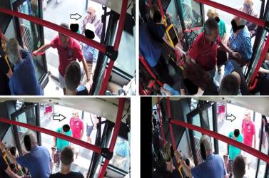 FOTÓ: Zsebtolvaj garázdálkodott a buszon, segítsen megtalálni!