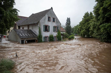A Benelux államokban is áradásokhoz vezetett a heves esőzés