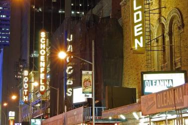 Oltópont nyílt a Broadway-n a New York-i szórakoztatóipar újraindításáért