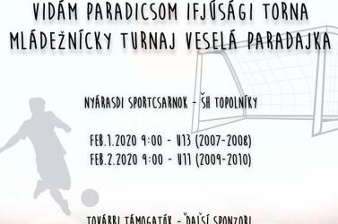 Kisudvarnoki szervezésű kétnapos ifjúsági focitornával indul a február Nyárasdon