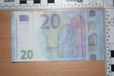 Nehezen felismerhető hamis 20 eurósokra figyelmeztet a rendőrség