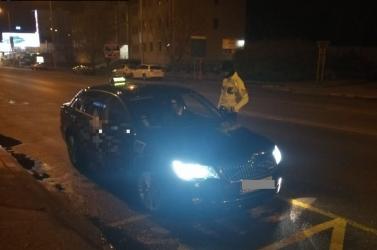 Dunaszerdahelyi taxikat ellenőrzött a rendőrség, akadtak hiányosságok és a gyorshajtást sem úszták meg (FOTÓK)