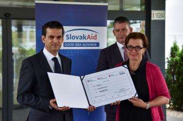 Élelmiszert és orvosi segédeszközöket küld Szlovákia Libanonnak