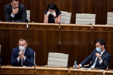 Az SaS képviselője szerint az OĽaNO politikusai túlléptek egy határt, durván megsértették a koalíciós szerződést