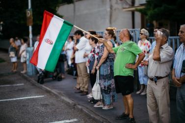 """""""Magyar az, aki másodszor is visszanézi a dunaszerdahelyi stadionban készült Nélküled-videót"""""""