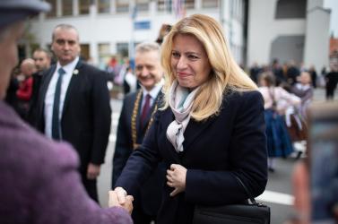 FELMÉRÉS: Čaputová a legmegbízhatóbb politikus, Matovičot megelőzi Pellegrini