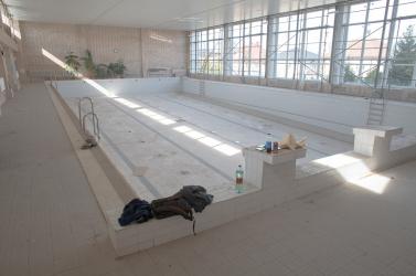Már vészhelyzet közeli állapotban volt a dunaszerdahelyi uszoda, mire tavasszal felújították