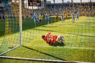 Izgalmas pillanatok köszönnek vissza a DAC-Slovan derbi fotóiról