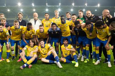 Íme, a Fortuna Liga ezüstérmese, és a bajnoki tét nélkül is megnyert meccs pillanatképei!