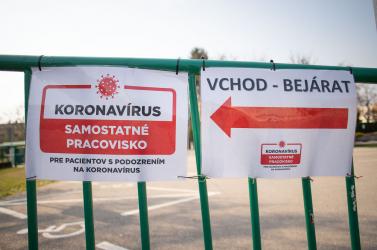 Alig van új fertőzött a Dunaszerdahelyi és a Komáromi járásban, a Galántaiban egyet sem találtak