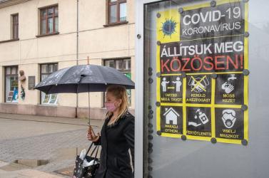 Magasan Pozsony vezeti az új fertőzöttek listáját, jobb eredmények születtek a magyarlakta járásokban