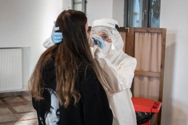 Már a dunaszerdahelyi kórházban is biztosítják az ingyenes antigéntesztelést