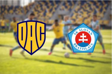 Fortuna Liga: FC DAC 1904 – ŠK Slovan Bratislava 1:1 (Online)