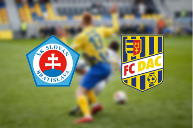 Fortuna Liga: ŠK Slovan Bratislava – FC DAC 1904 3:1 (Online)