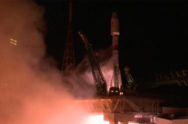 Pályára állították Szojuz orosz űrhajóval a brit OneWeb 34 műholdját