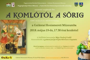 A komlótól a sörig – kiállítás a Galántai Honismereti Múzeumban