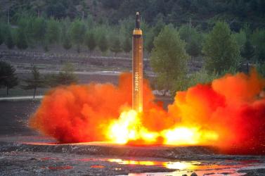 Az ENSZ fejese próbálja oltani a tüzet Észak-Koreában