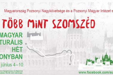 Nagy sikerű hangverseny nyitotta meg a Magyar Kulturális Hetet Pozsonyban
