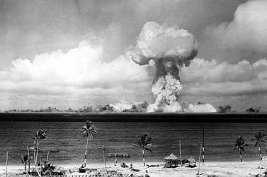Feltérképezték a csendes-óceáni víz alatti atomrobbantás kráterét