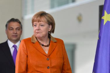 Merkel kerüli Orbánt, aki nem jó kampányarc