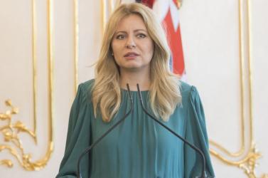 """Čaputová: """"Legyen erőnk megvédeni a szabadságot és a demokráciát"""""""