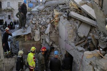 Tovább emelkedett az albániai földrengésben meghaltak száma