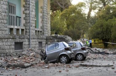 Albániai földrengés - Befejezték a kutatást a katasztrófamentők