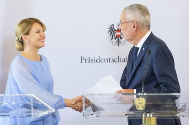 Megvan az osztrák elnök szlovákiai látogatásának új időpontja