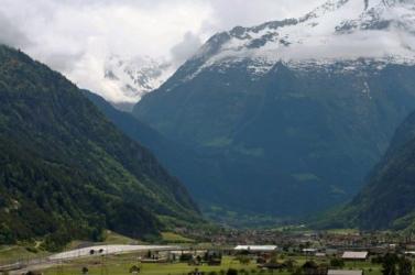 Aggasztó mértékben olvadnak a svájci gleccserek