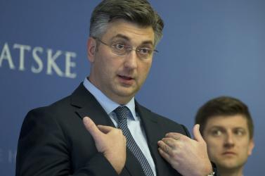 Karanténba vonul a horvát kormányfő