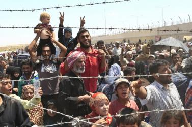 Több százezer menekült tért vissza Szíria északi részére