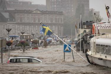 ÁRADÁSOK: Belgiumban és Hollandiában a legtöbb folyó vízszintje apadni kezdett