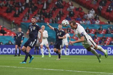 EURO-2020: Nem bírtak az angolok Skóciával